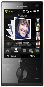 HTC Touch Diamond Datenblatt - Foto des HTC Touch Diamond