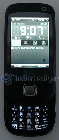 HTC Touch Dual: Beleuchtung