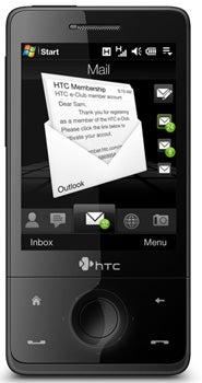 HTC Touch Pro Datenblatt - Foto des HTC Touch Pro