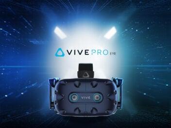 Die HTC Vive Pro Eye