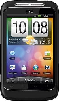 HTC Wildfire S Datenblatt - Foto des HTC Wildfire S