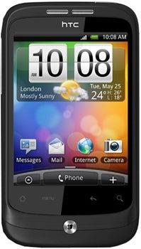 HTC Wildfire Datenblatt - Foto des HTC Wildfire