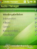 HTC-P3350: Audio-Manager