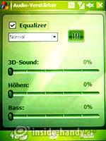 HTC-P3350: Audio-Verstärker