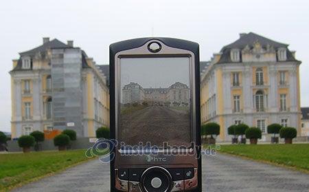 HTC-P3350: beim Fotografieren