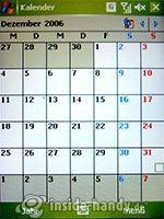 HTC-P3350: Kalender