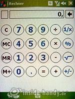 HTC-P3350: Rechner