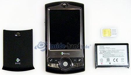 HTC-P3350: zerlegt in Bestandteile