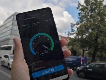 5G auf dem Huawei Mate 20 X 5G