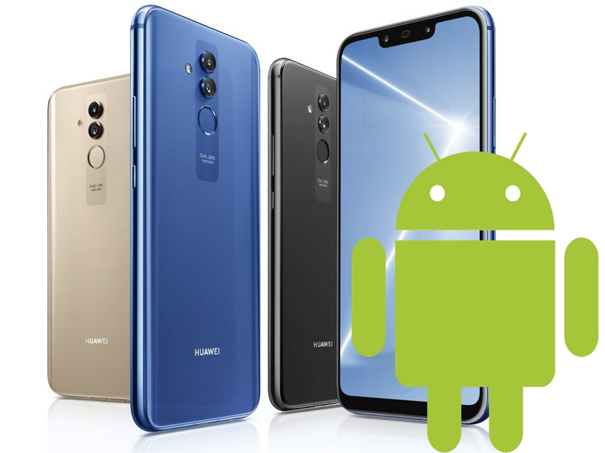 Huawei Mate 20 Lite mit Android.