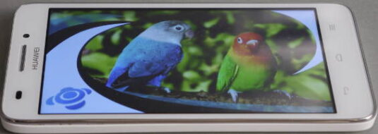 Huawei Ascend G620S: Display