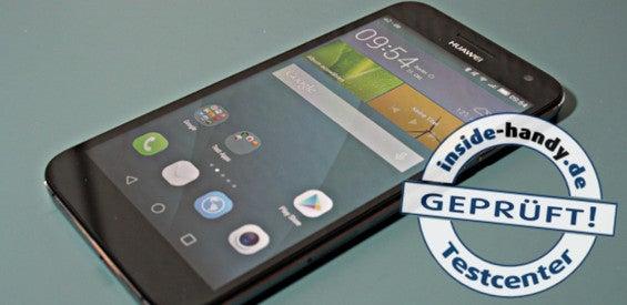 Huawei Ascend G7 mit Testlogo
