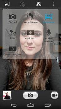 Huawei Ascend P7 Selfie Modi