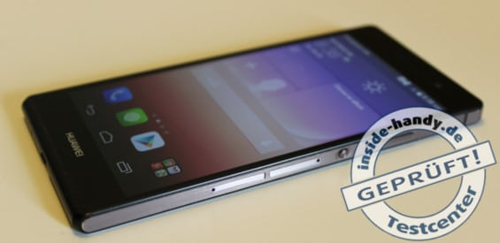 Huawei Ascend P7 Topnewsbild Testbericht