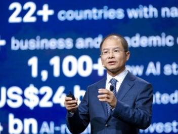 Huaweis Vorstandsvorsitzender Eric Xu