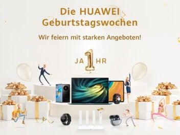 Angebote in den Huawei Geburtstagswochen