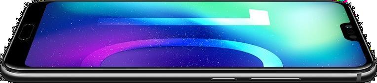 Huawei Honor 10 Schwarz Quer Rechts