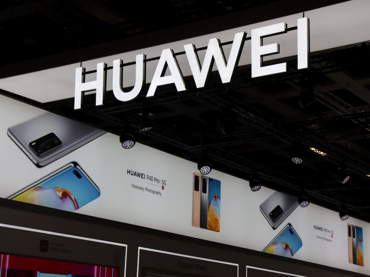 Huawei Messestand