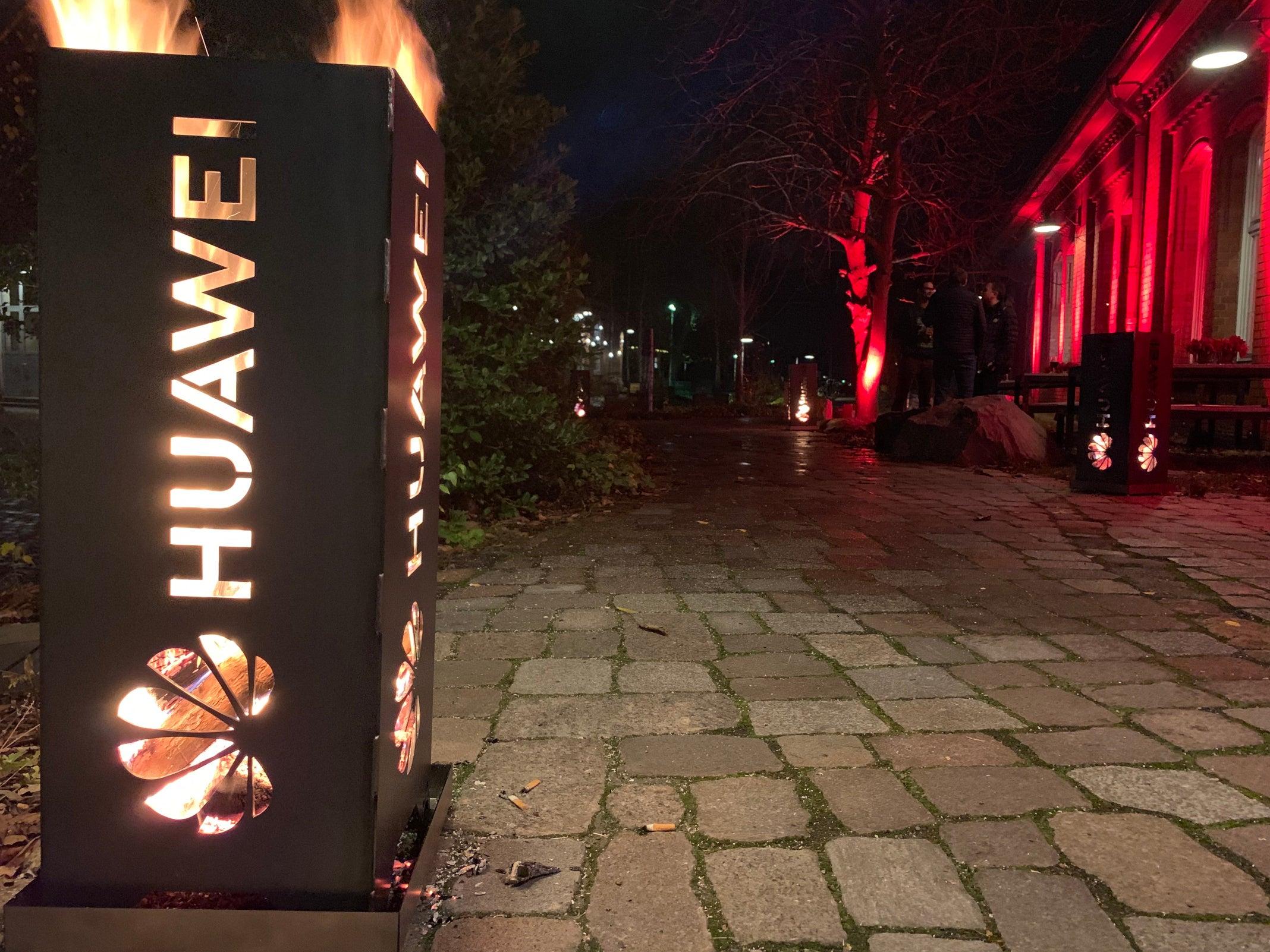 Huawei Feuerstelle