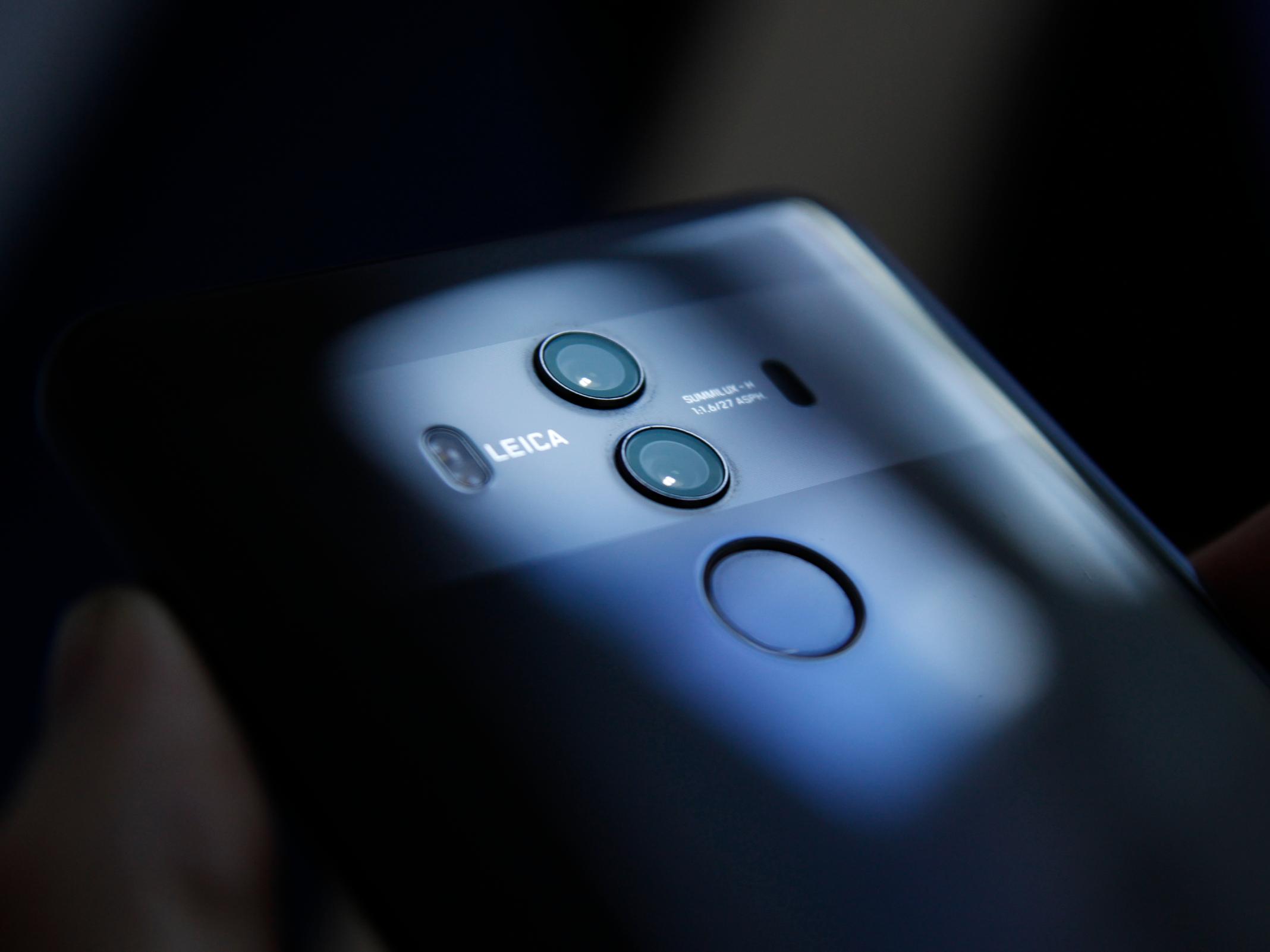 Das Huawei Mate 10 Pro von hinten