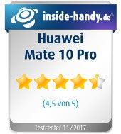 Huawei Mate 10 Pro Testsiegel