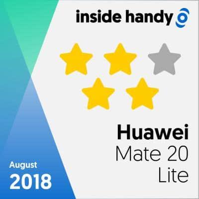 Huawei Mate 20 Lite im Test: 4 von 5 Sternen