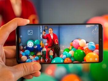 Huawei Mate 20 Pro Bild in Bild Foto