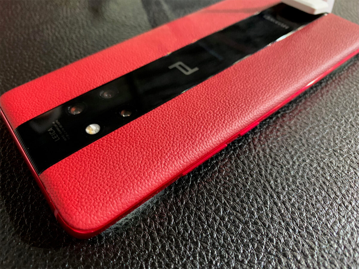 Huawei Mate 20 RS Porsche Design in Rot
