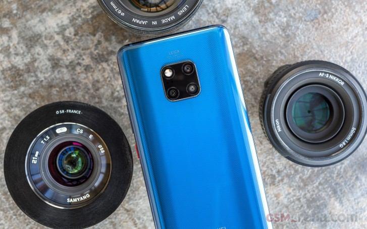 Sieht so das Huawei Mate 30 Pro aus?
