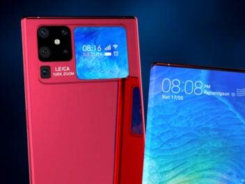 Huawei Mate 40 Pro Konzept