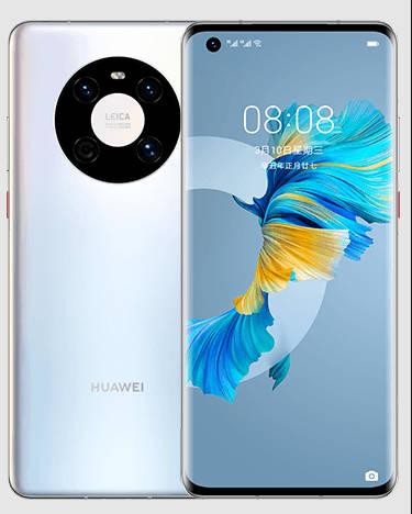 Huawei Mate 40E Vorderseite und Rückseite