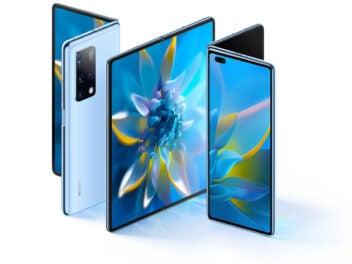 Huawei Mate X2 aus verschiedenen Perspektiven