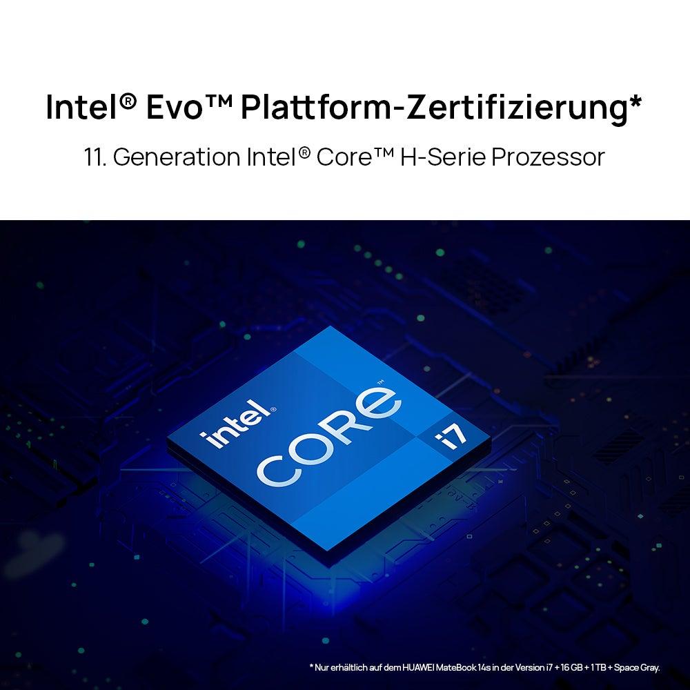 Huawei MateBook 14s Prozessor-Details