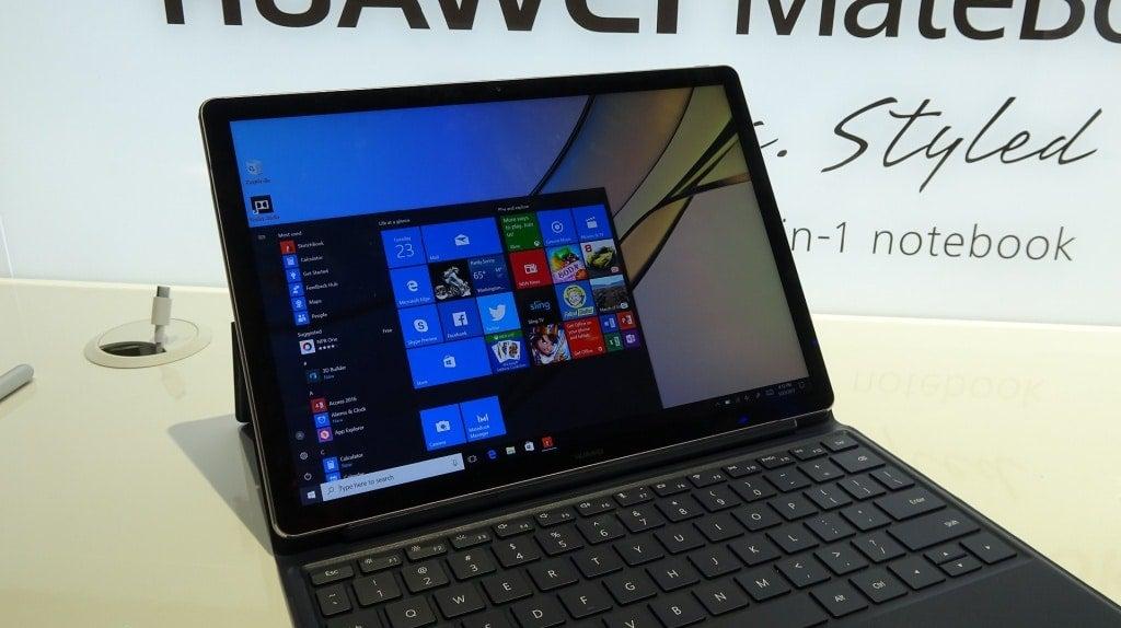 Huawei MateBook E mit WIndows 10