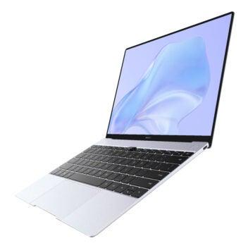 Huawei MateBook X von der Seite