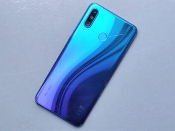 Auf grauem Grund: Huawei P30 Lite