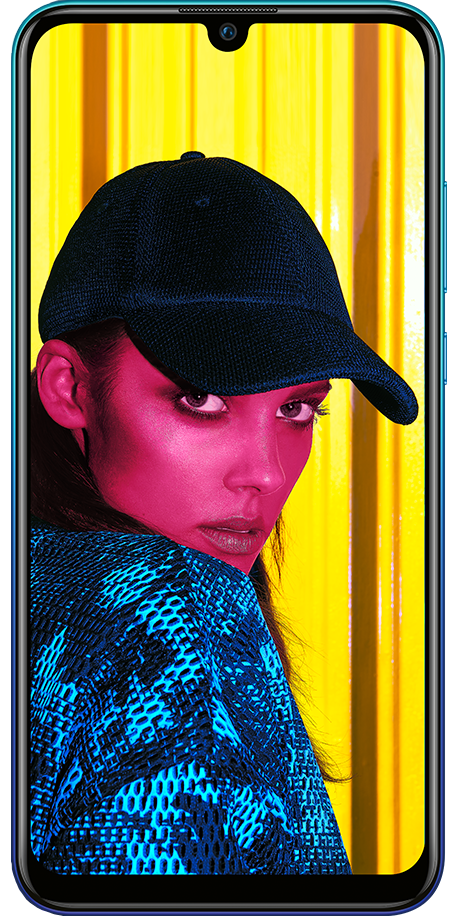 Huawei P Smart 2019 Blau Front