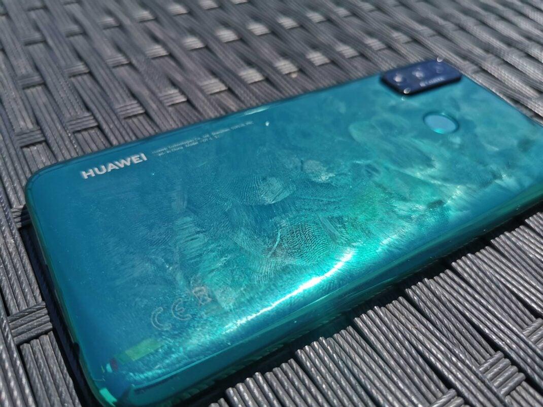 So sieht das Huawei P smart 2020 aus, nachdem man es kurz in der Hand hatte