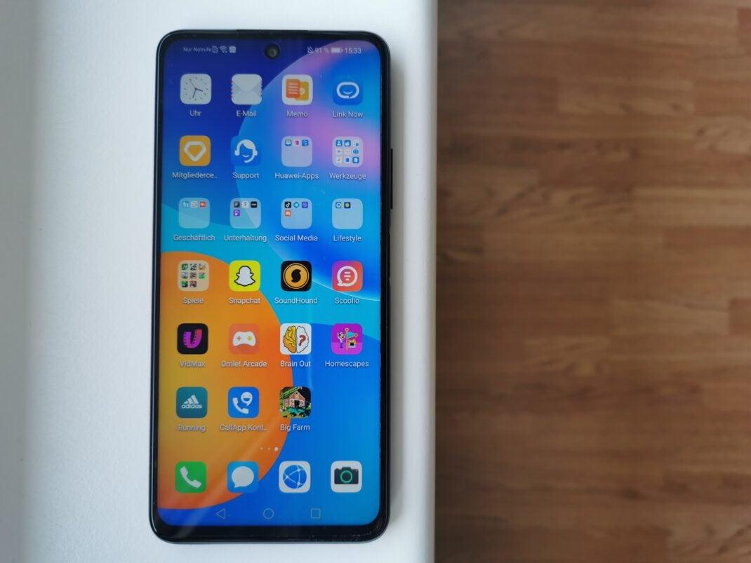Apps auf dem Huawei P smart 2021
