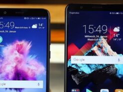 Huawei P smart vs. Honor 7x