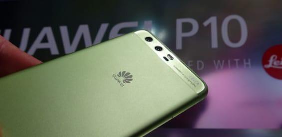 Huawei P10 Grün