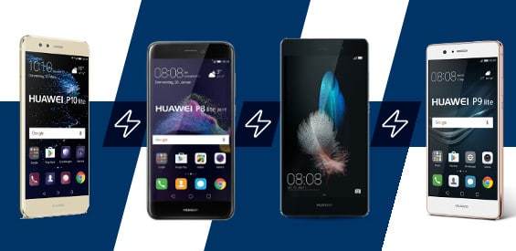 Huawei P10 Lite, P8 Lite und P9 Lite im Vergleich
