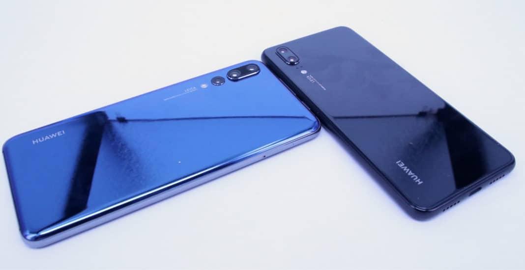 Huawei P20 P20 Pro Vergleich gro0