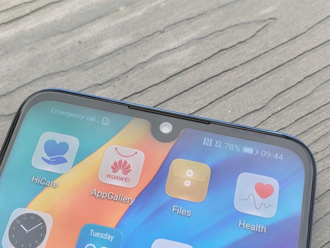 Die überarbeitete Frontkamera der Huawei P30 lite New Edition im Test