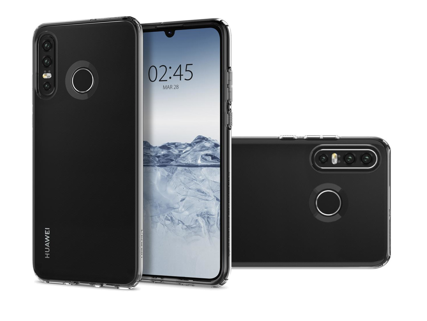 "Huawei P30 lite and back with case ""width ="" 1477 ""tall ="" 1108"