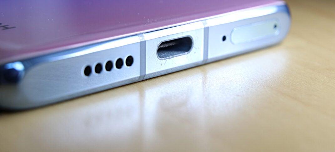 Kratzer am Rahmen des Huawei P30 Pro