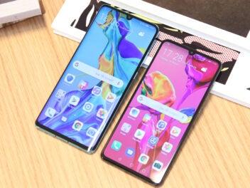 Huawei P30 und P30 Pro nebeneinander