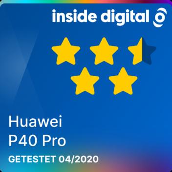 Testsiegel Huawei P40 Pro