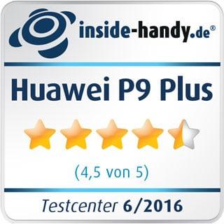 Testsiegel des Huawei P9 Plus