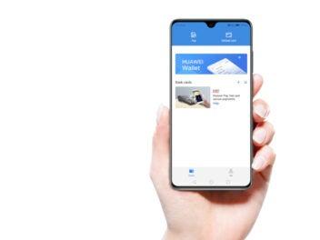 Huawei Pay auf einem Handy